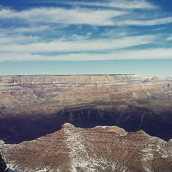 #snow At #grandcanyon! A View From The by Sarah Marie