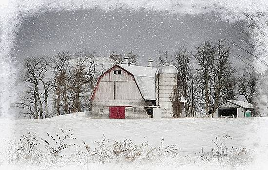 Snow Barn by Scott Fracasso