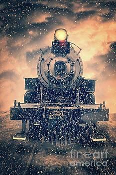 Edward Fielding - Snow Bound Steam Train