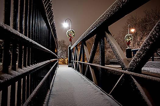 Snow Bridge by Allen Ahner