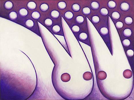 Snow Bunnies by Mary Anne Nagy