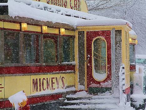 Snow Capped Mickey's by Melinda Martin