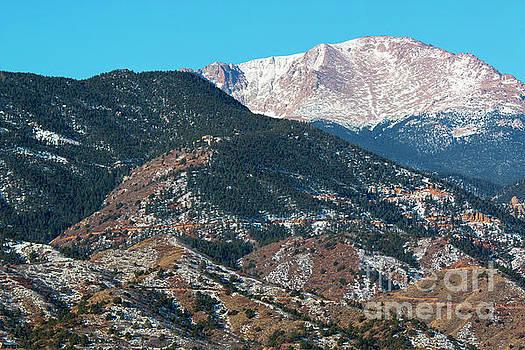 Steve Krull - Snow covered Pikes Peak