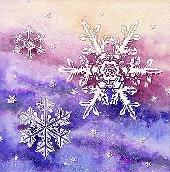 Snow Crystals by Lynne Henderson