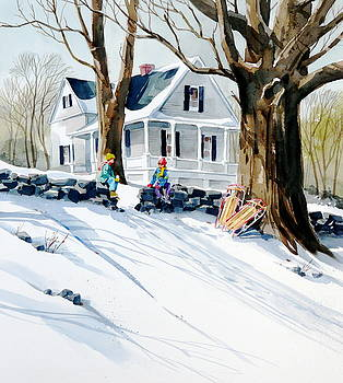 Snow Day by Art Scholz