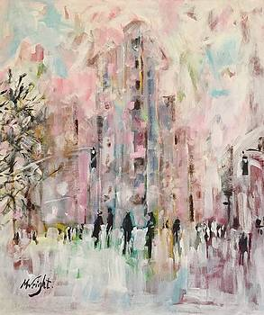 Snow Day In The City by Molly Wright