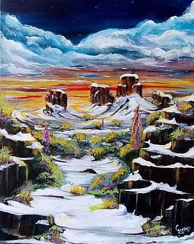 Snow fine by Chuck Kemp