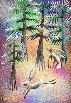 Angela Treat Lyon - Snow Forest