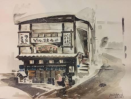 Snow in Japan by John Ostrowick