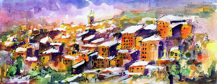Ginette Callaway - Snow in the South of France