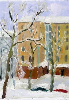 Snow by Lelia Sorokina