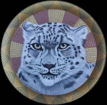 Snow Leopard by Amanda Lynne