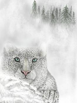 Snow Leopard by Darren Cannell