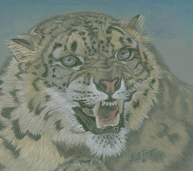 Snow Leopard by Gail Finger