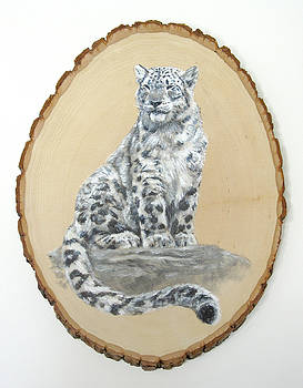 Snow Leopard - Renewed Perception by Brandy Woods