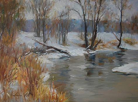 Snow Melting by Kelvin  Lei