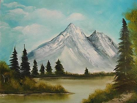 Snow Mountain by Preethi Kumar