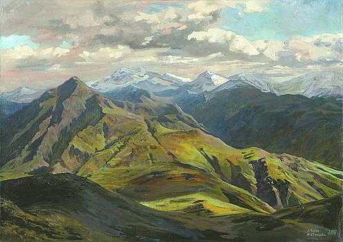 Snow Mountains  by Denis Chernov