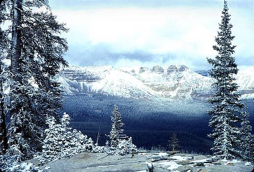 Snow on the High Uintas by John Foote