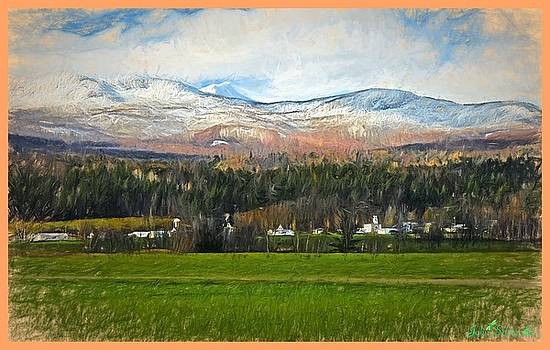 Snow On The Mountains by John Selmer Sr