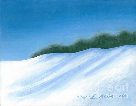 Snow Scene by Lela  Buis