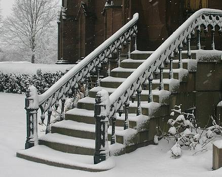 Snow steps by Dennis Curry