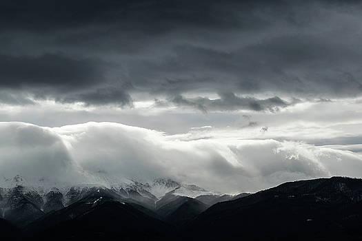 Snow storm over the Central Balkan by Julien Van Dommelen