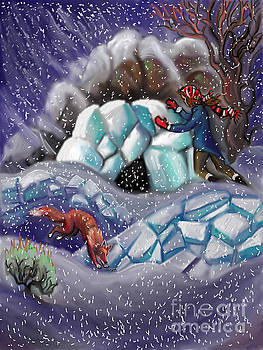 Snow Tang - Story Illustration 9 by Dawn Senior-Trask
