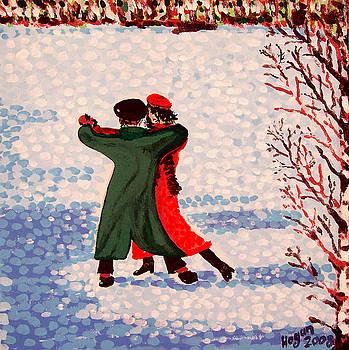 Snow Tango by Alan J Hogan