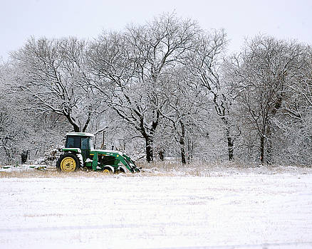 Snow Tractor by David Chalker