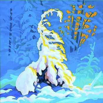 Snow Tree by Dianne Bersea