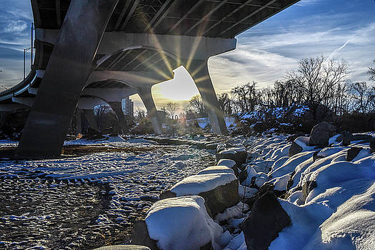 Snow Under the Bridge by Doug Ash