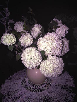 Snowball Bouquet by Joyce Dickens