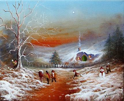Snowballs In The Shires. by Ray Gilronan