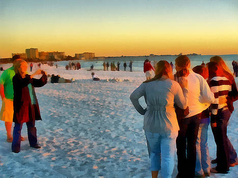 TAWES DEWYNGAERT - Snowbirds Braving Cold Weather