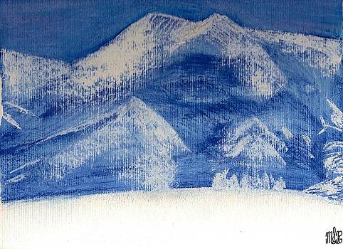 Snowcap Mountain by Mark Richard Luther