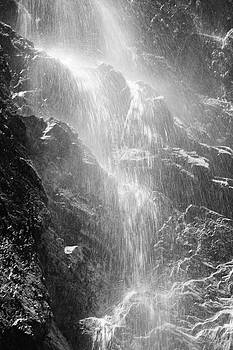 Snowcreek Falls by Raymond Salani III