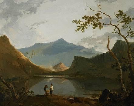 Wilson Richard - Snowdon From Llyn Nantlle 1766