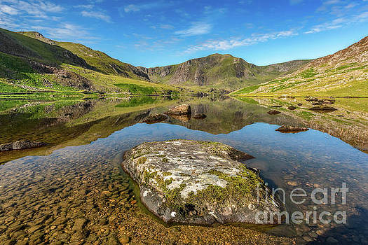 Snowdonia Mountain Reflections by Adrian Evans