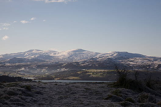 Snowdonia mountains by Christopher Rowlands