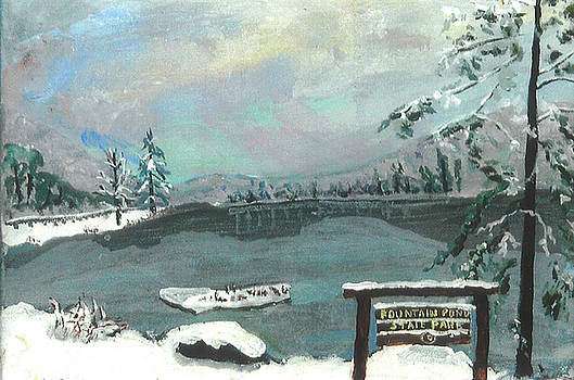 Snowfall by Margaret Buchte