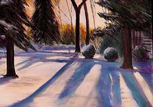 Snowfield by George Grace