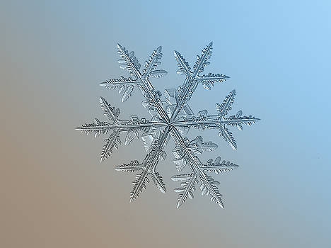 Snowflake photo - Asymmetriad by Alexey Kljatov