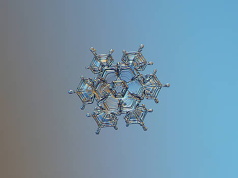 Snowflake photo - Flying castle by Alexey Kljatov