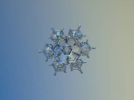 Snowflake photo - Flying castle alternate by Alexey Kljatov