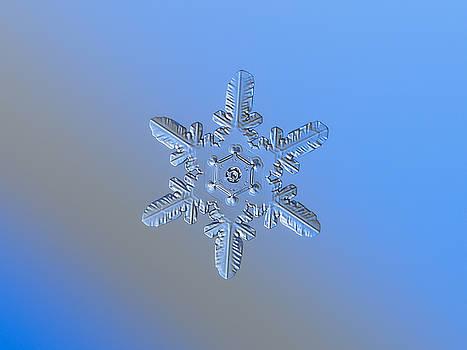 Snowflake photo - Heart-powered star alternate by Alexey Kljatov