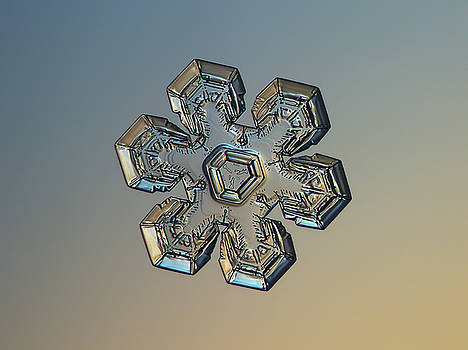 Snowflake photo - Massive gold by Alexey Kljatov