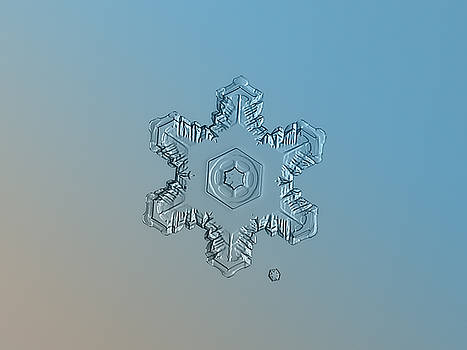 Snowflake photo - Relief by Alexey Kljatov