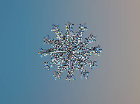Snowflake photo - Wheel of time by Alexey Kljatov