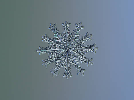 Snowflake photo - Wheel of time II by Alexey Kljatov